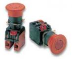 Кнопочные выключатели аварийного останова серии A22E